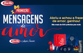Promoção Mensagem de Amor Barilla e Laura Pausini