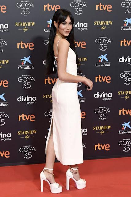 AITANA at Goya Cinema Awards 2021 in Malaga