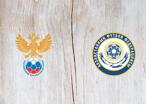 Russia vs Kazakhstan -Highlights 9 September 2019