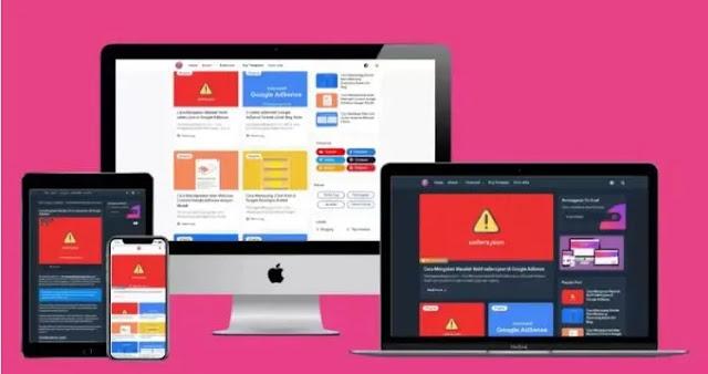 Arlina Code Blogger Template Free Download