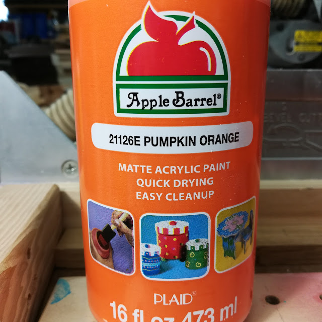 Apple Barrel Pumpkin Orange Paint