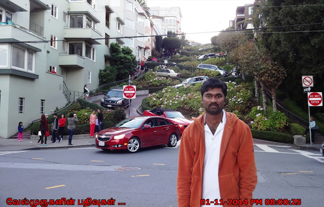 Lombard Street and Hyde Street Intersection