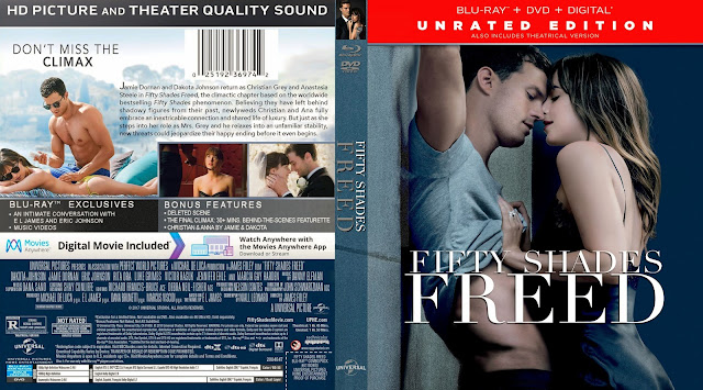 Fifty Shades Freed (scan) Bluray Cover