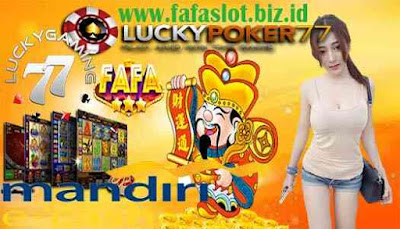 Agen LuckyPoker77 Daftar Menggunakan Mandiri E-Cash E-Money