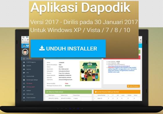 Download Aplikasi Dapodik Versi 2017 Terbaru