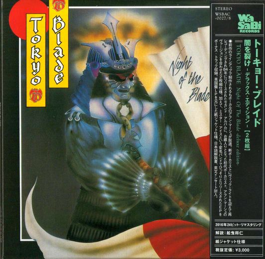 TOKYO BLADE - Night Of The Blade [Deluxe Edition Japan mini-LP remastered] (2016) full