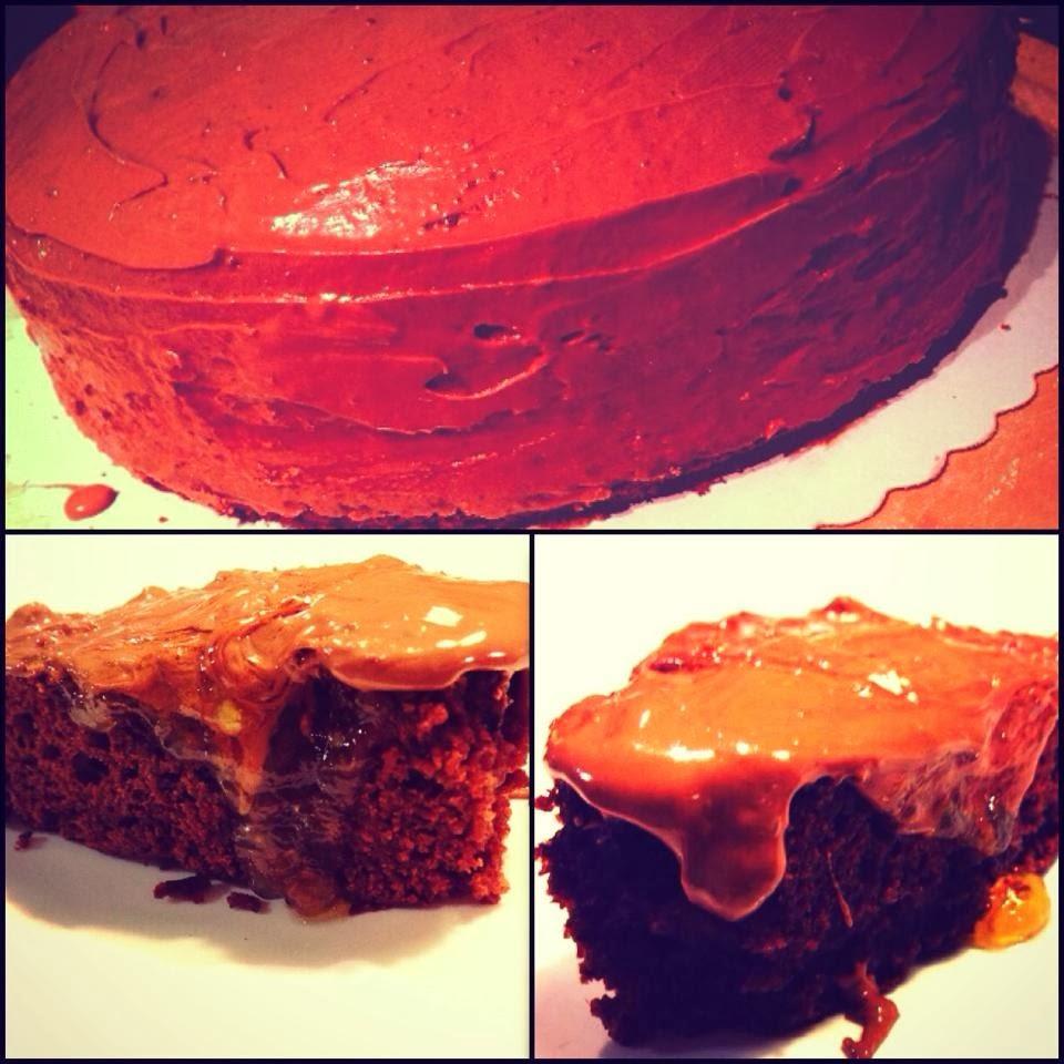 Experiment Vegan Schoko Orangen Lebkuchen Kuchen Mit Dinkel
