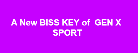 GEN X SPORT APSTAR6@134 E New Biss Key And Tp Frequency 2019