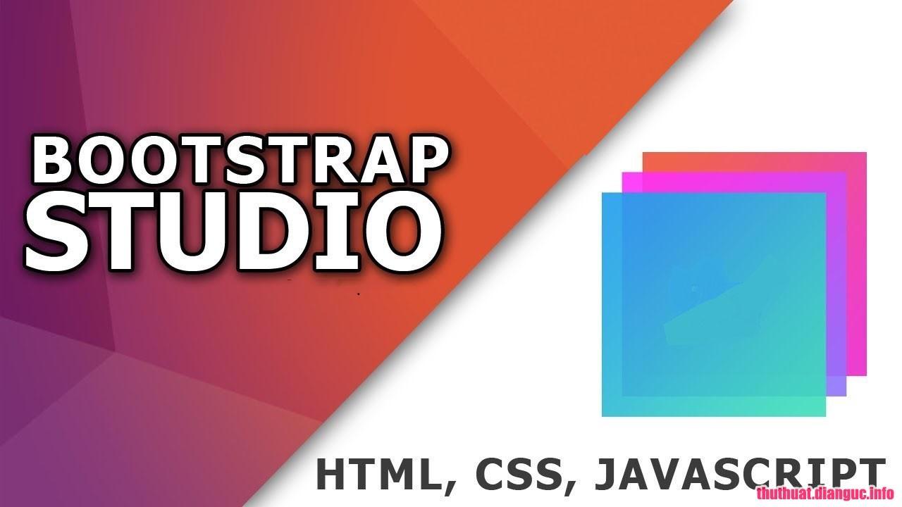 Download Bootstrap Studio 4.5.1 Full Crack