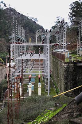 Central hidroeléctrica del río Lima, 2011