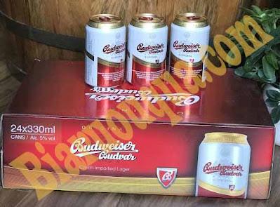 Thùng bia Budweiser Budvar 24 lon