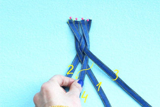 How to sew a plait detail - Tilly and the Buttons