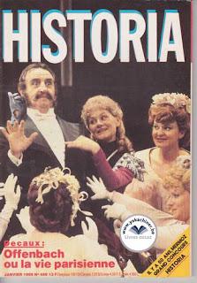 Revue Historia, 469 1986, Offenbach ou la vie parisienne
