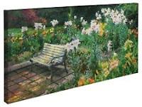 Thomas Kinkade Eternal Springtime 16 x 31 Gallery Wrapped Canvas