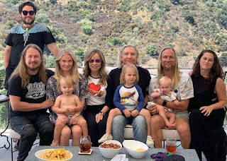Picture of Joe Walsh with his family
