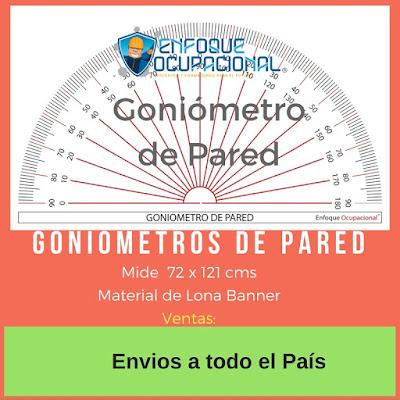 Goniómetros de Pared, Goniometría, venta