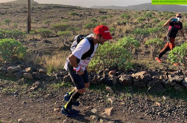 El tijarafero David Rodríguez, continúa cumpliendo su reto personal, coronando La Gomera