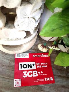 kartu perdana Smartfren 10N+