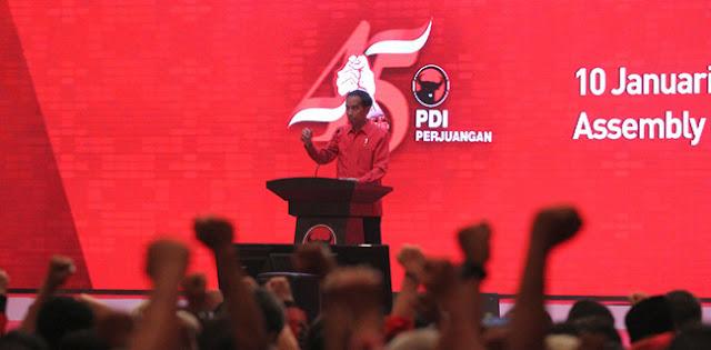 Tidak Perlu Khawatir Isu Kudeta, Partai Mega Mestinya Lebih Takut Jokowi Ambil Alih PDIP