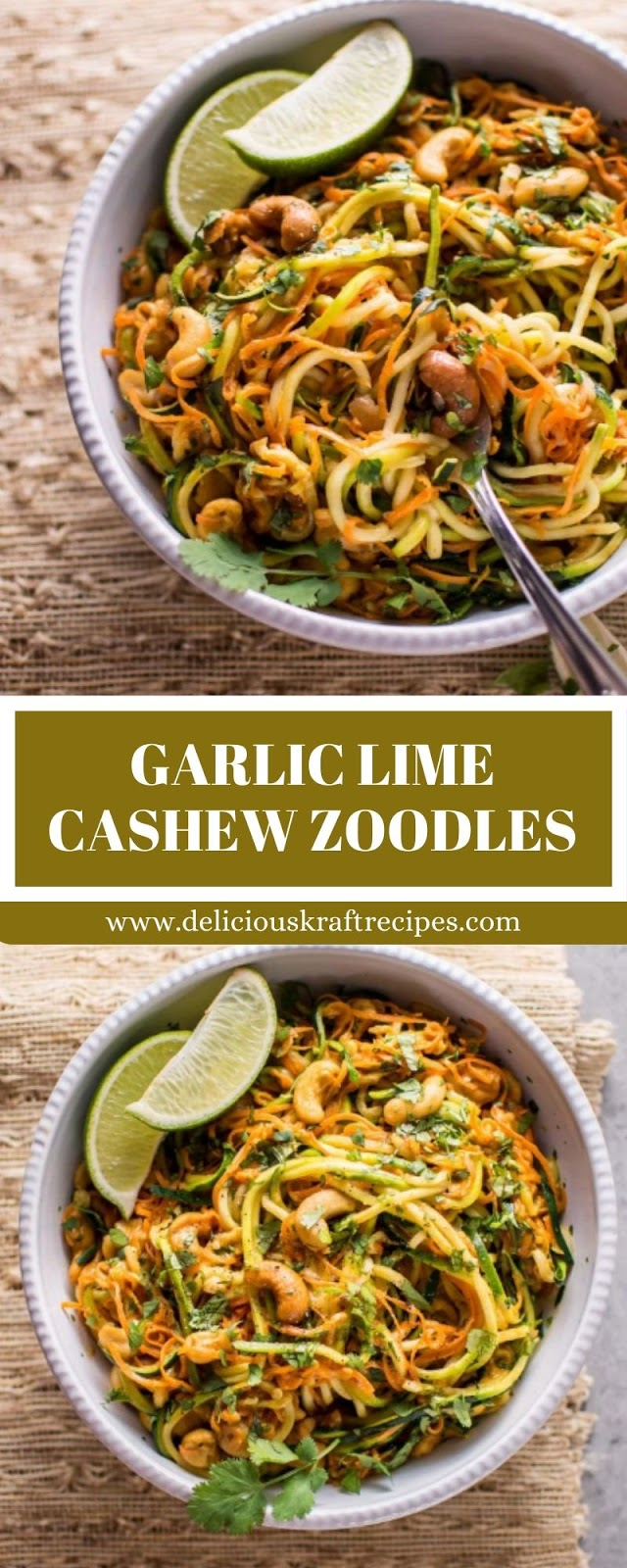 GARLIC LIME CASHEW ZOODLES