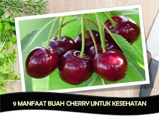 Khasiat BUah Cherry Untuk Kecantikan, Kesehatan