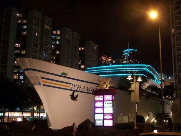 Restaurante en un barco