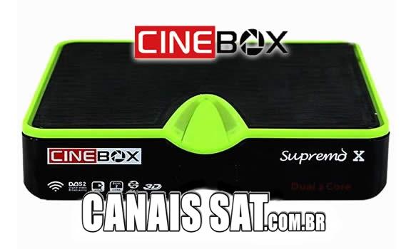 Cinebox Supremo X Dual Core Atualização - 31/05/2021