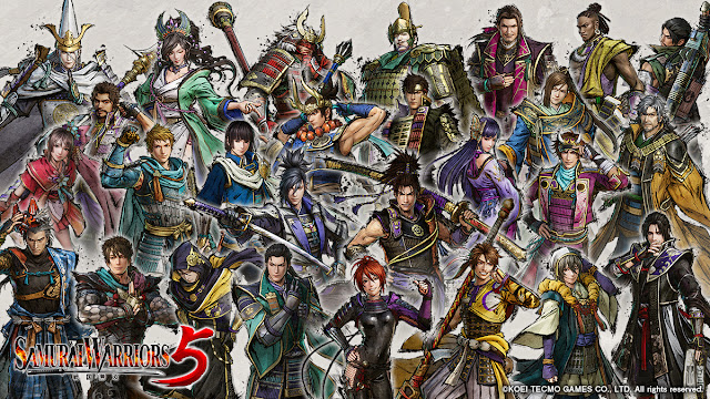 Samurai Warriors 5 (Switch) recebe novo trailer mostrando os personagens jogáveis