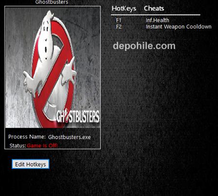 Ghostbusters (PC) Sınırsız Can, Tek Atma +4 Trainer Hilesi İndir
