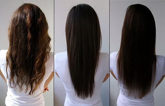 أسهل كيراتين ممكن تجربيه لك ولبنتك كيرد الشعر خيوط حرير وكيلمع