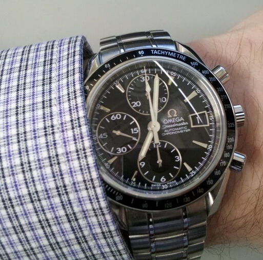 Mens Omega 322800 Stainless Steel Watch