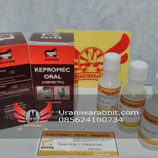 Obat scabies, Kepromec Oral repack by uraniwarabbit.com
