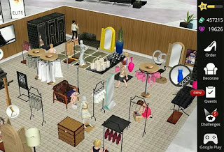 Fashion Empire - Boutique Sim - Infinite (Coins/Gems/keys/XP) MOD APK