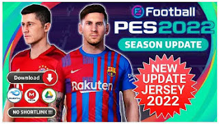 Download NEW RELEASE!! eFootball PES 2022 PPSSPP TM ARTS New Update Jersey Season 2022 & Best Graphics New Real Face