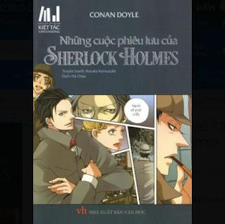 Series Truyện Tranh Kiệt Tác Văn Chương - Những Cuộc Phiêu Lưu Của Sherlock Holmes ebook PDF-EPUB-AWZ3-PRC-MOBI