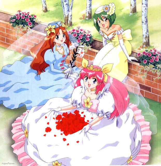 dessin animé Wedding Peach