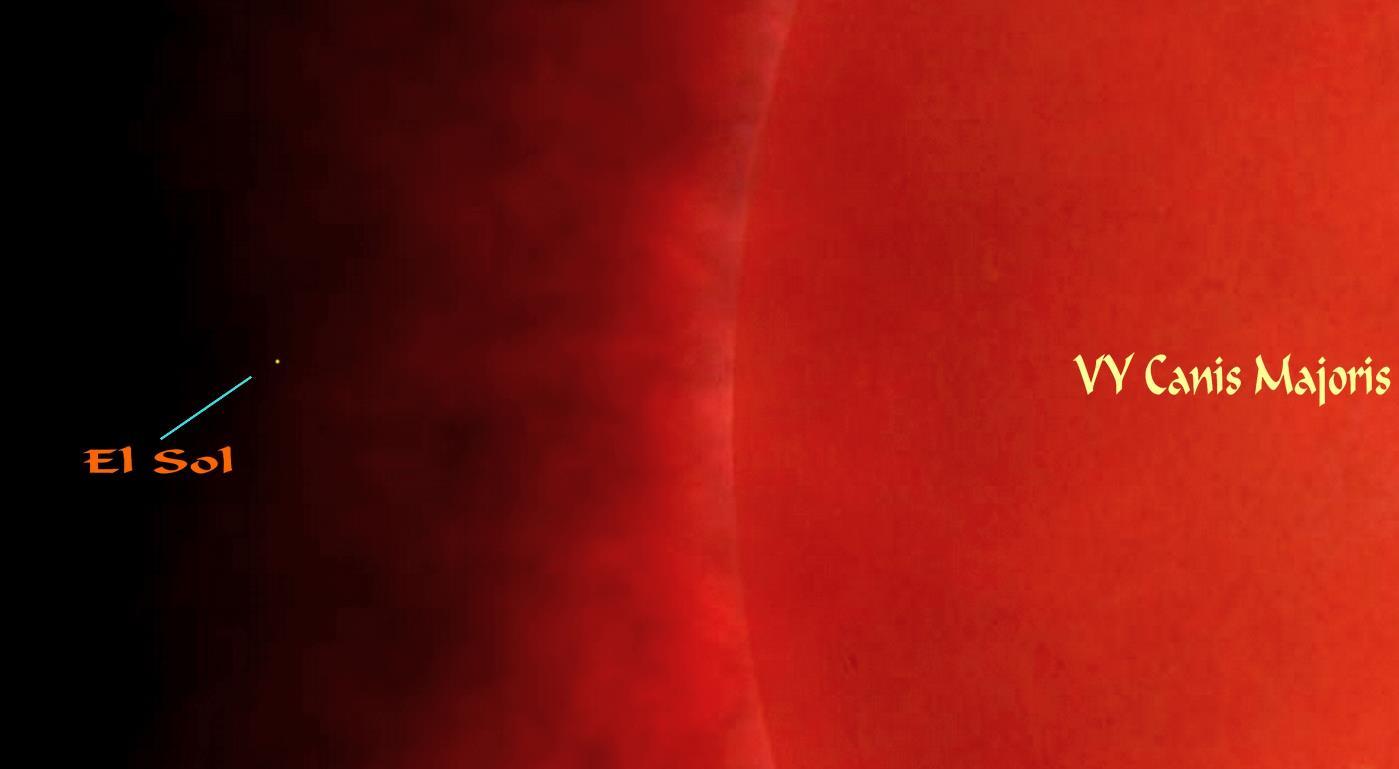 Betelgeuse, la estrella visible más grande - Blogodisea