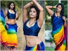 Actress Soumya Shetty Hot And Sexy Photos in Saree