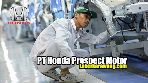 PT Honda Prospect Motor Karawang Terbaru