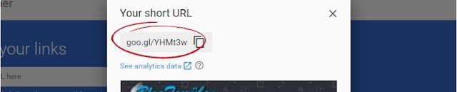 Google link kısaltma