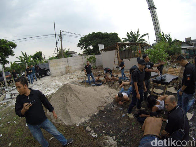 Polisi Tangkap 25 Preman yang Duduki Tanah Sengketa di Kalideres