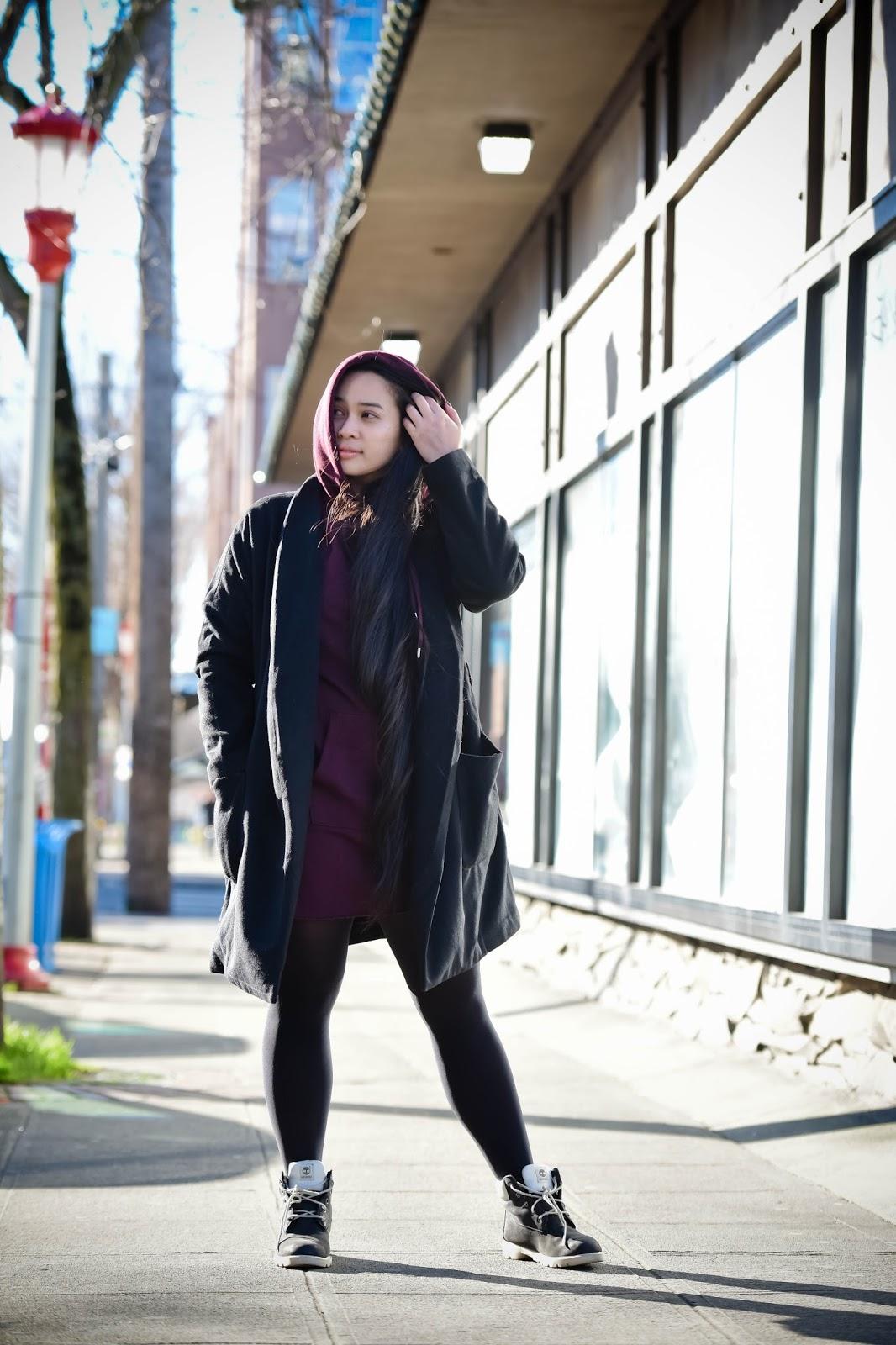 seattle blogger ootd international district chinatown h&m