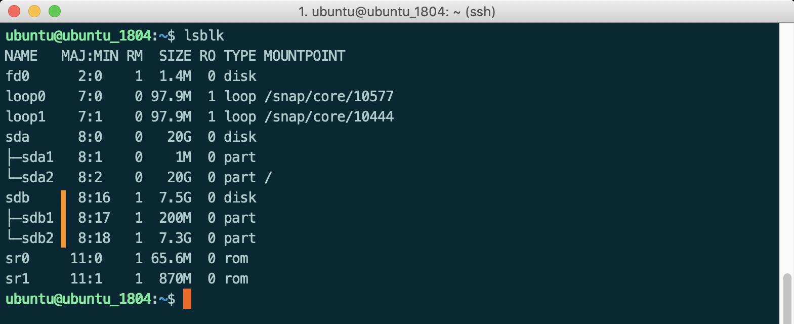 Linux 掛載USB