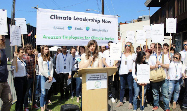 Meet The Amazon Employees Challenging Jeff Bezos On 'Climate Change'