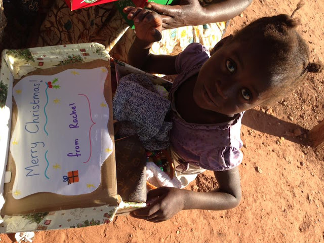 OCC shoebox delivered to a little girl in Zambia.