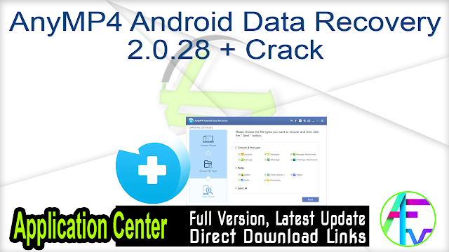 AnyMP4 Android Data Recovery 2.0.28 + Crack