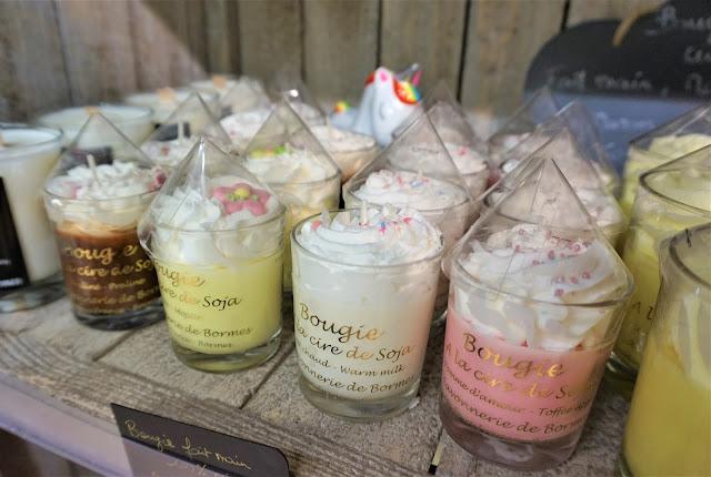 Savonnerie de l'Ilot Aix bougies desserts