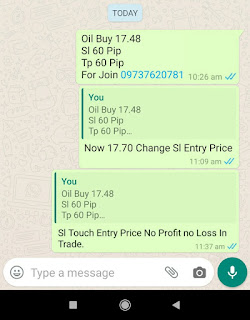 28-04-2020 Forex Trading Commodity Crude Oil Signal Prices Today Alerts