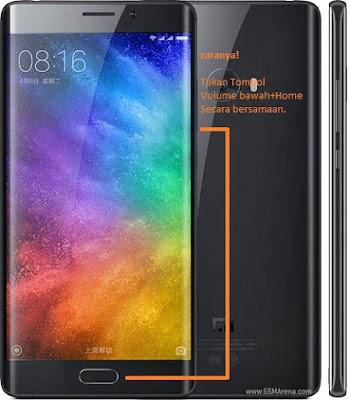 Cara Screenshot Xiaomi Mi Note 2 Tanpa Aplikasi