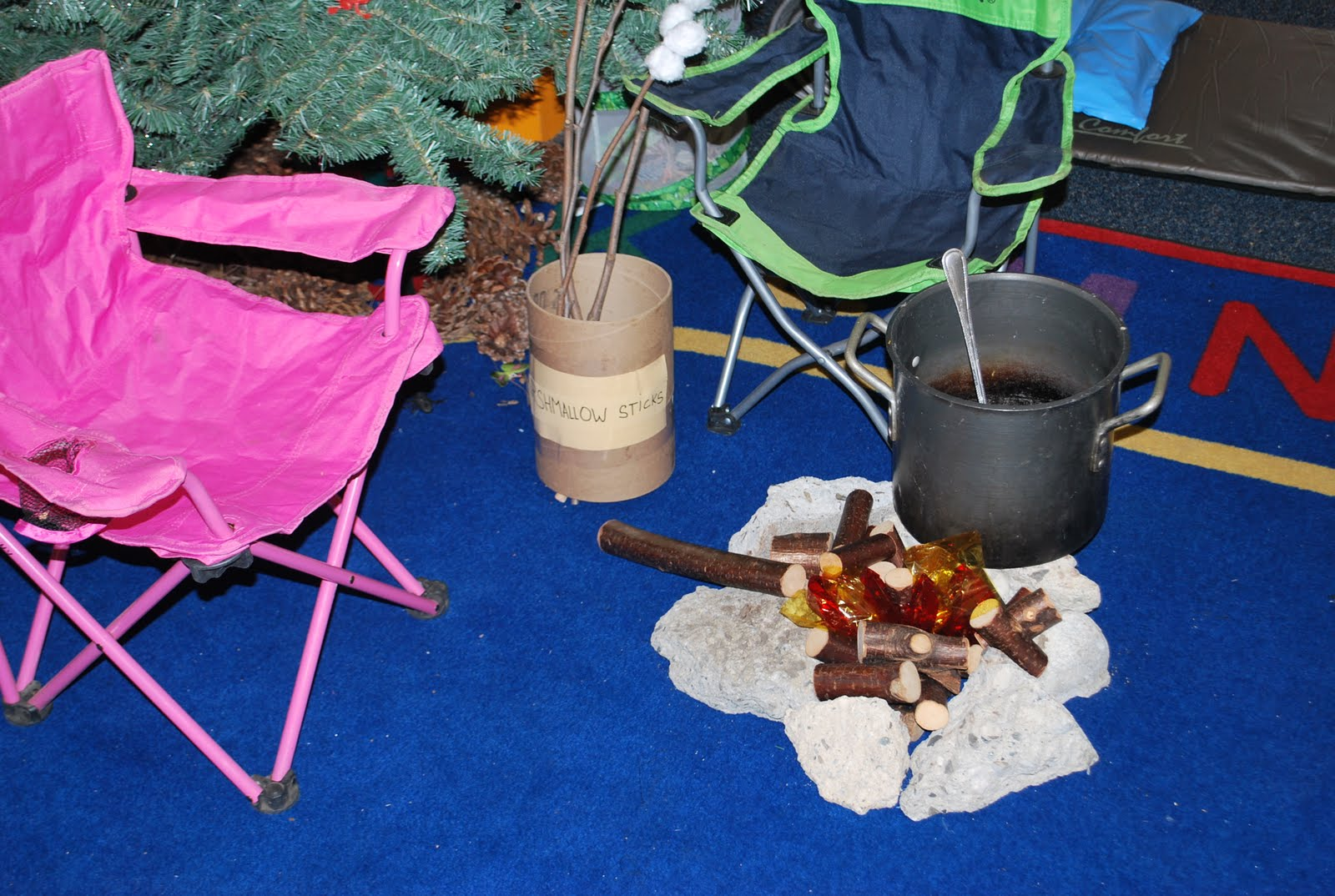 Familylicious Preschool Projects Camping And Native